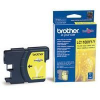 Brother LC1100HYY Yellow Cartridge