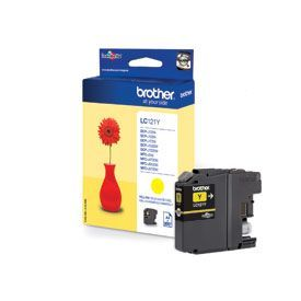 Brother LC121Y Yellow Cartridge