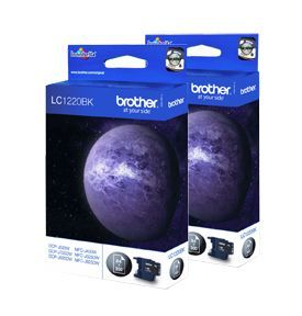 Brother LC1220 Twin Pack