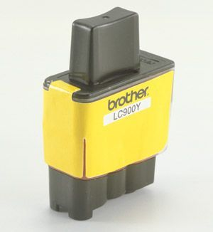 Brother LC900Y Yellow Cartridge