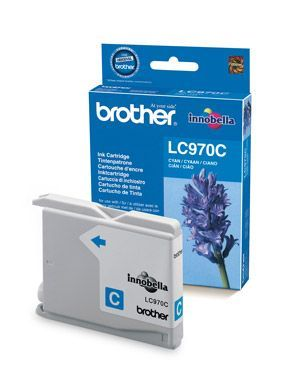 Brother LC970C Cyan Cartridge