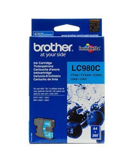 Brother LC980C Cyan Cartridge