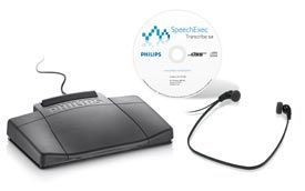 Philips LFH7177 SpeechExec Transcription Kit and Software