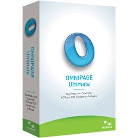 Nuance OmniPage Ultimate 19.0 International English Brown Bag
