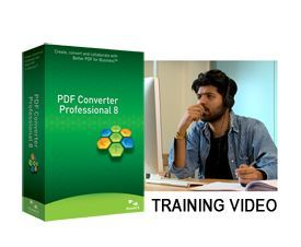 Nuance PDF Converter Professional 8 Training Video, US English, Brown Bag