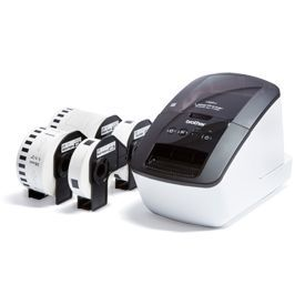 Brother QL-710WSP Desktop Label Printer Bundle