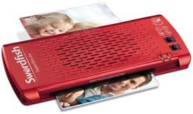 Swordfish Superslim Red Laminator