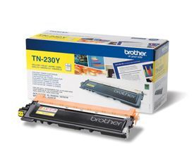 Brother TN-230Y Yellow Toner 1.4K