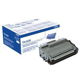 Brother TN3430 Black Toner 3000 Page Yield