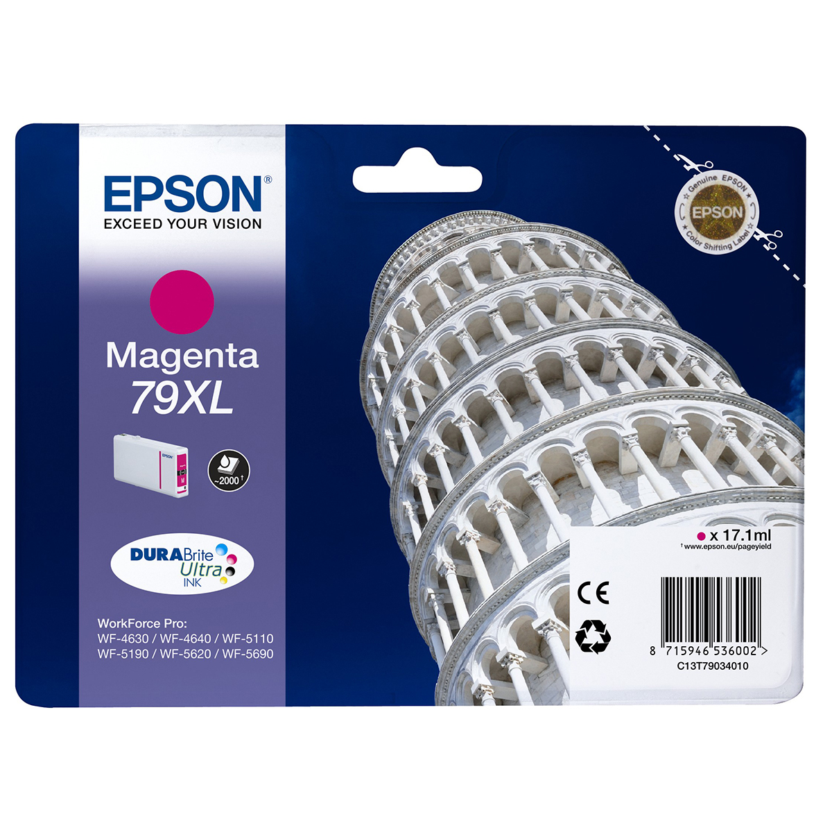 Epson 79XL Ink Cartridge Magenta