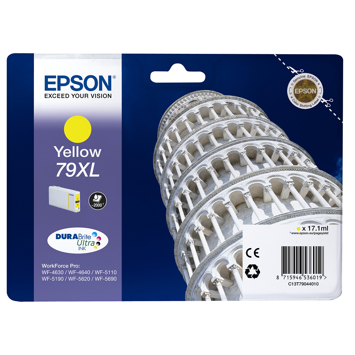 Epson 79XL Ink Cartridge Yellow