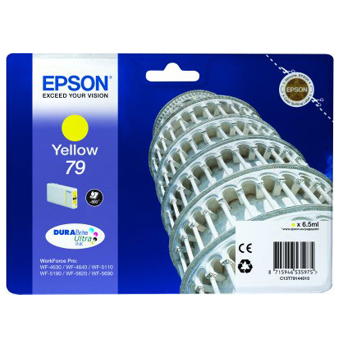 Epson 79 Durabrite Ink Cartridge Yellow
