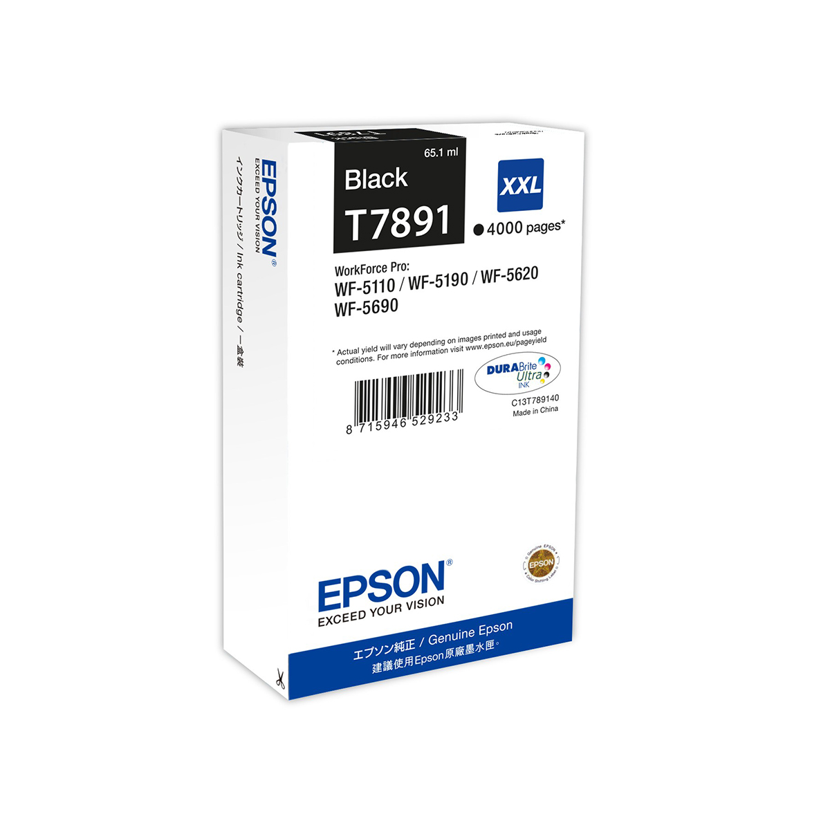 Epson T789 Ink Cartridge XXL Black