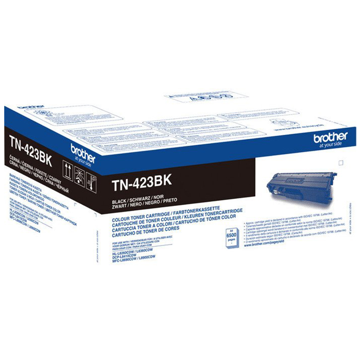 Brother TN-423BK High Yield Black Toner