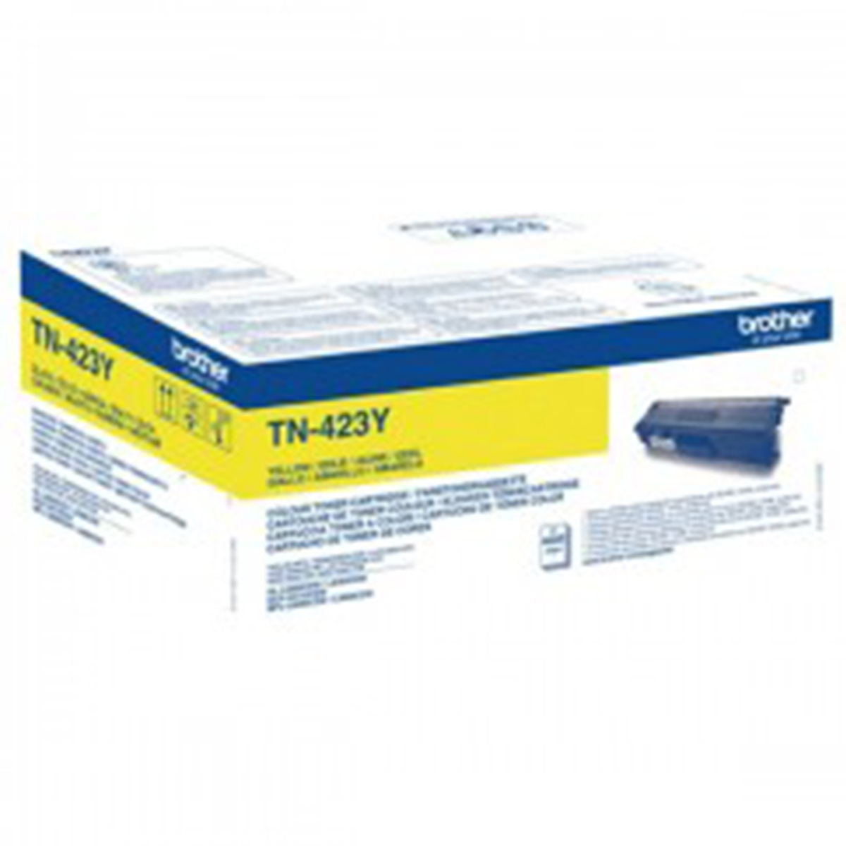 Brother TN-423Y High Yield Yellow Toner