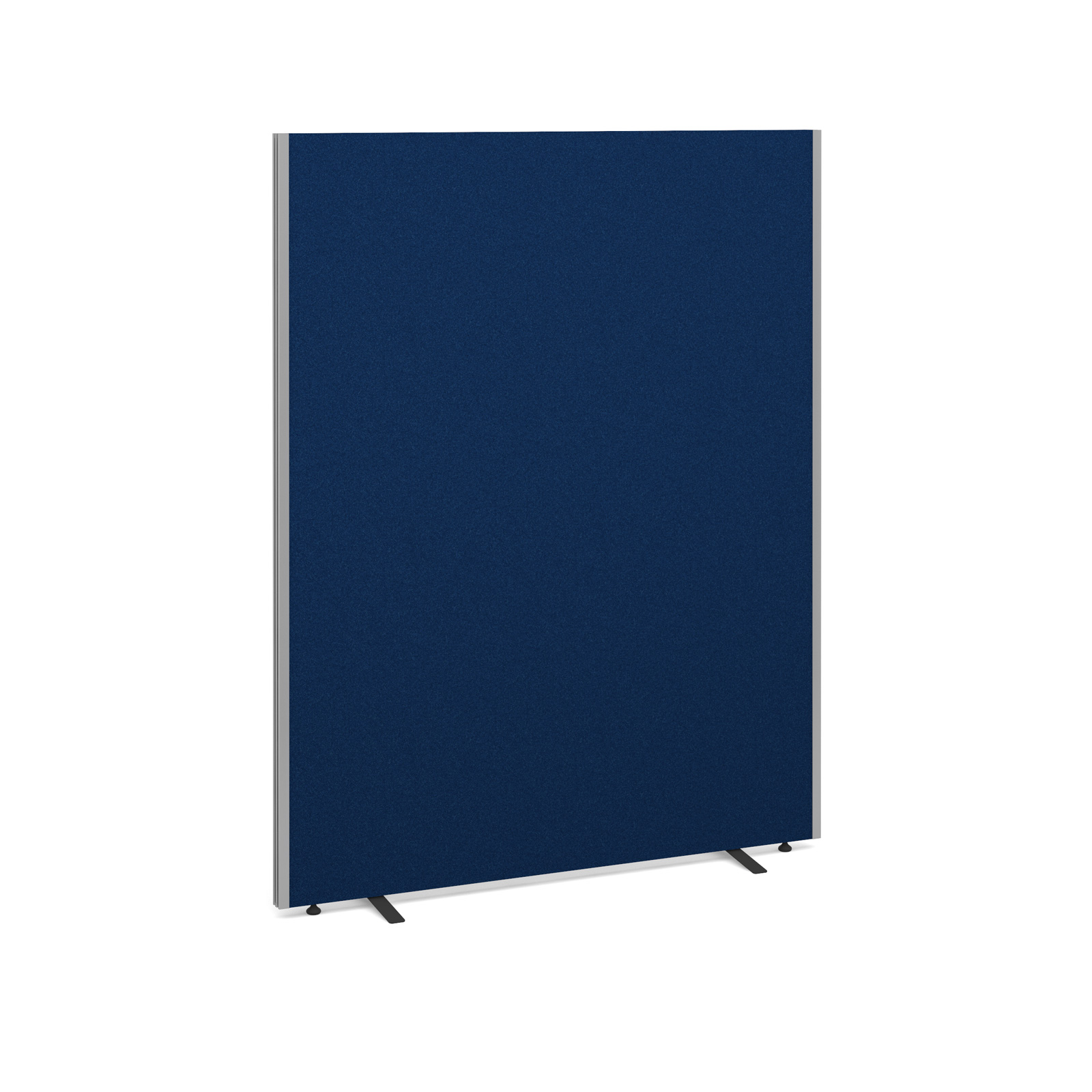 Floor standing fabric screen