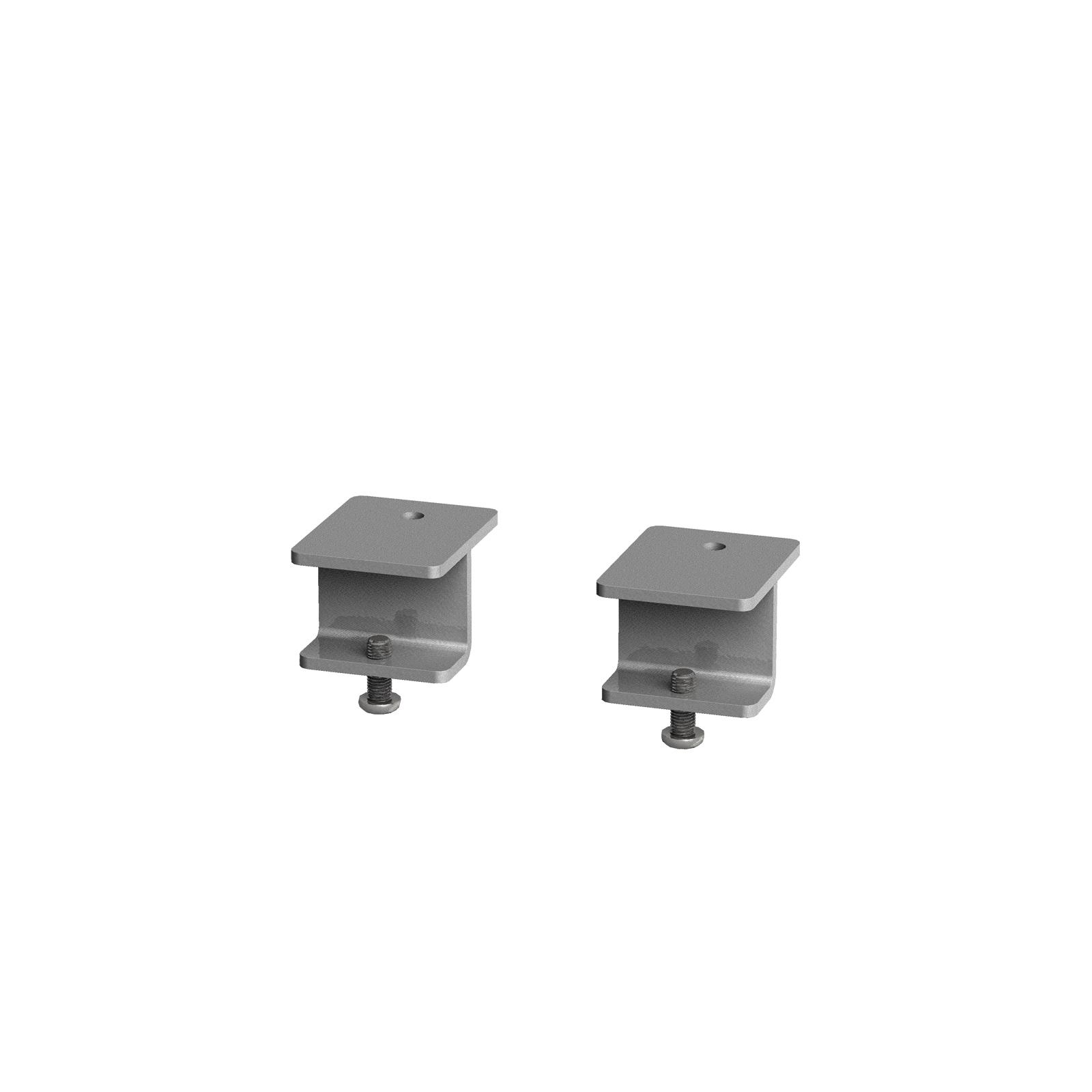 Glazed screen brackets Adapt/Fuze desks