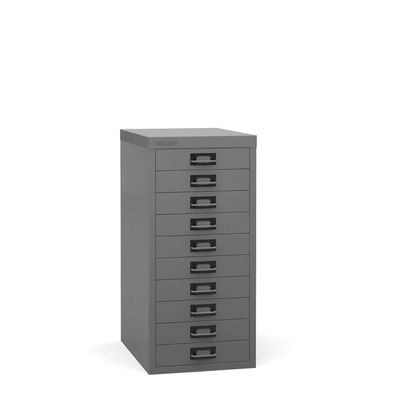 Bisley Multi-drawer, 10 drawer Grey