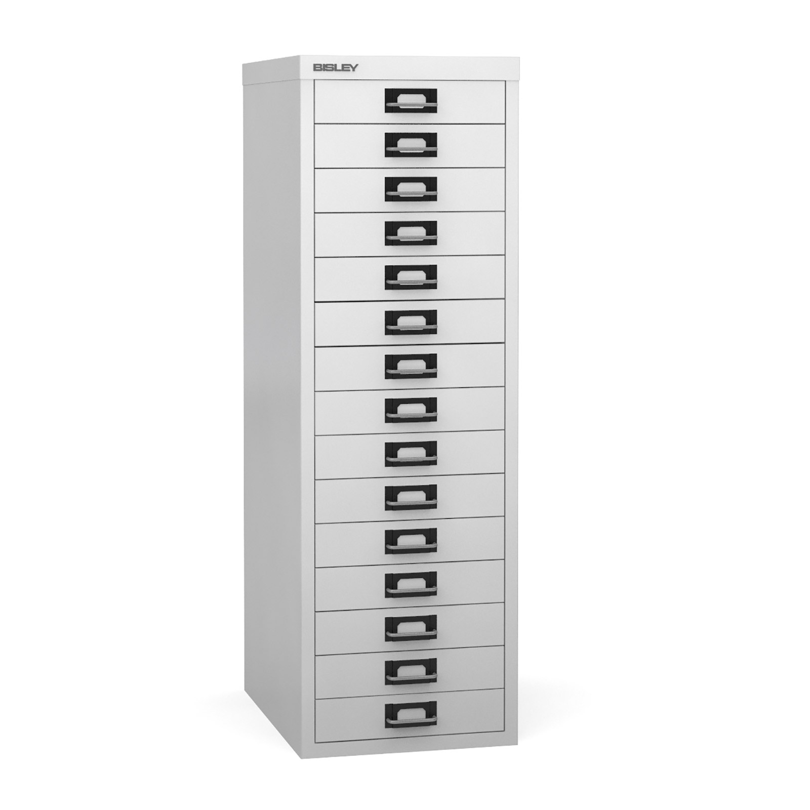 Bisley Multi-drawer, 15 drawer Chalk white