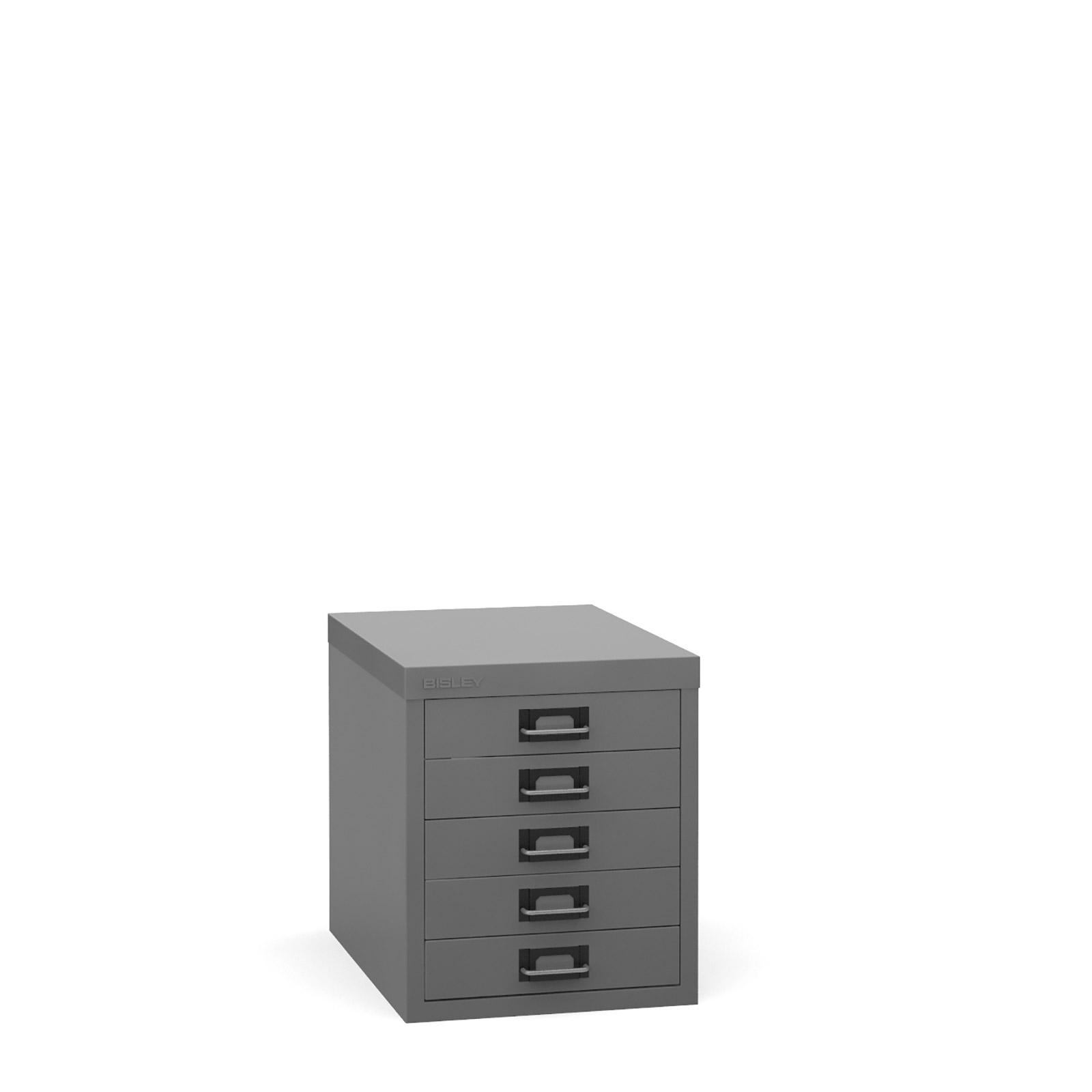 Bisley Multi-drawer, 5 drawer Grey