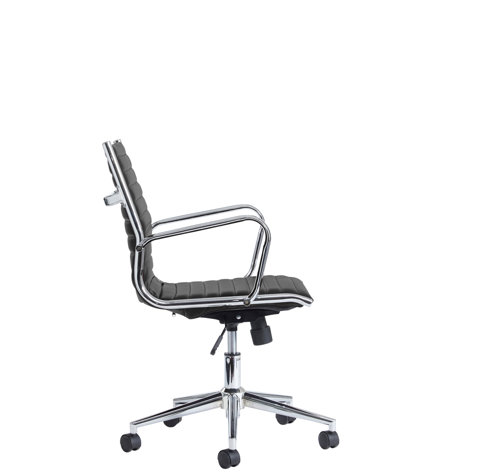 Bari medium back executive chair - black