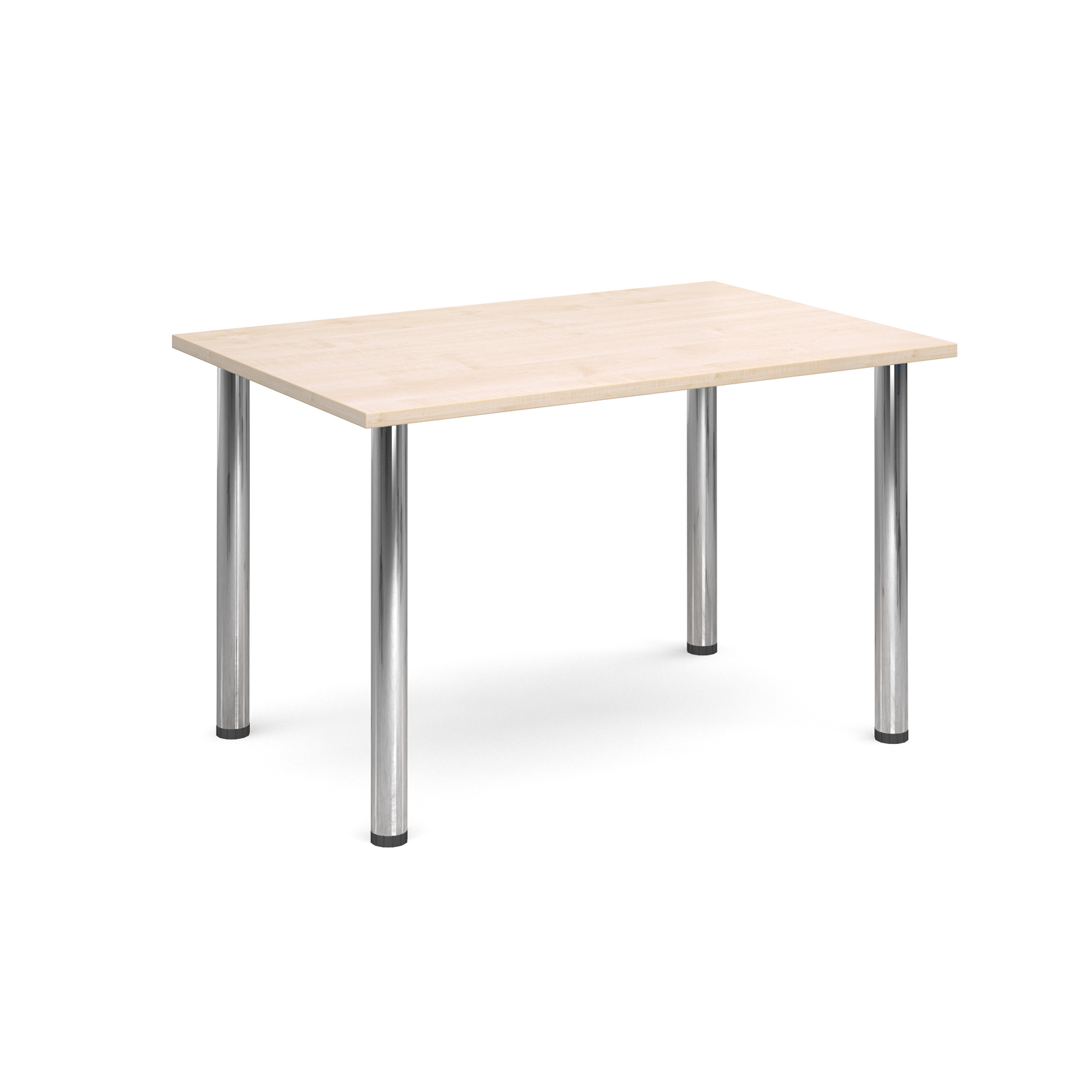 1300 Flexi table Chrome radial Legs-Maple