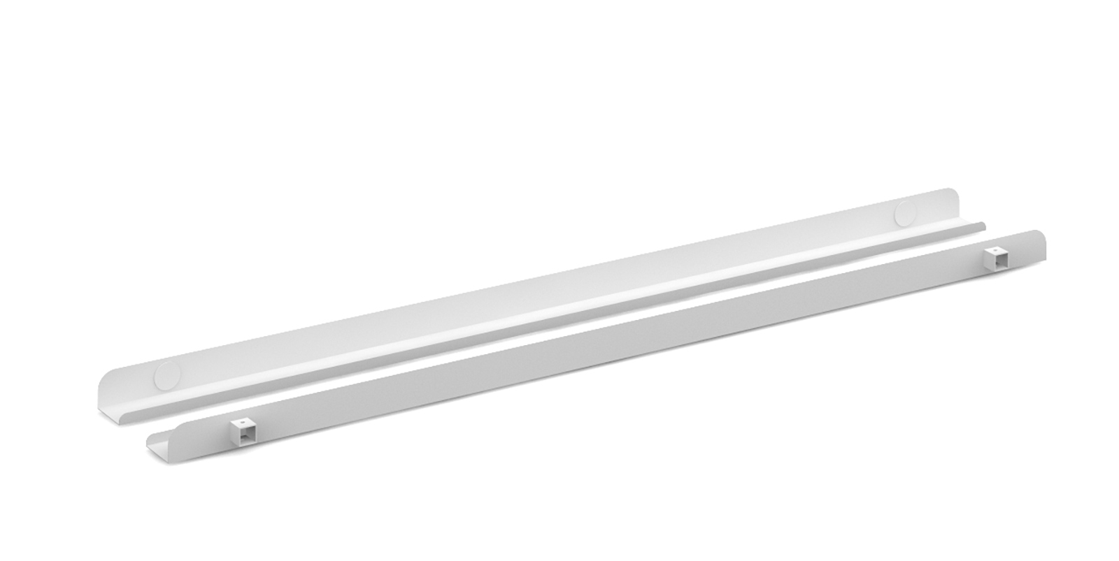 Connex Single Cable Tray 1200mm in white