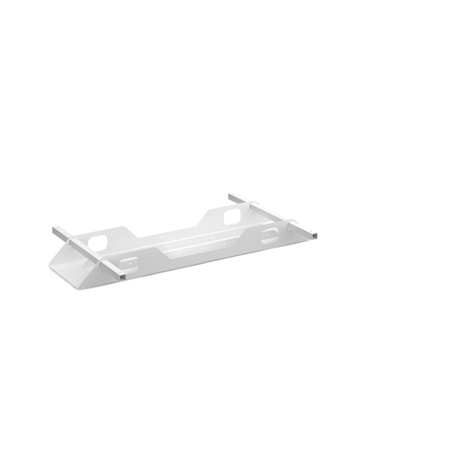Connex Double Cable Tray 1200mm in white