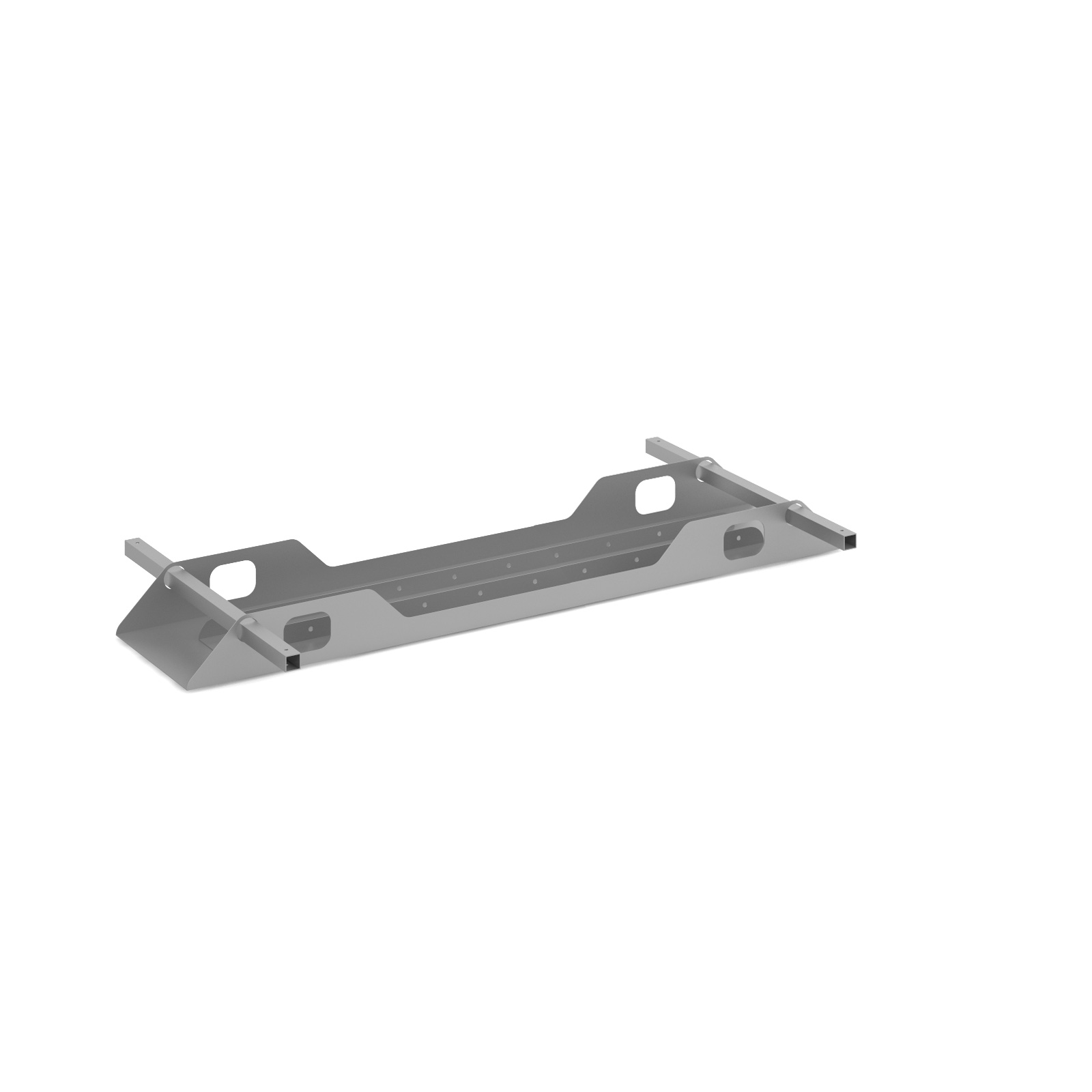 Connex Double Cable Tray 1400mm in silver
