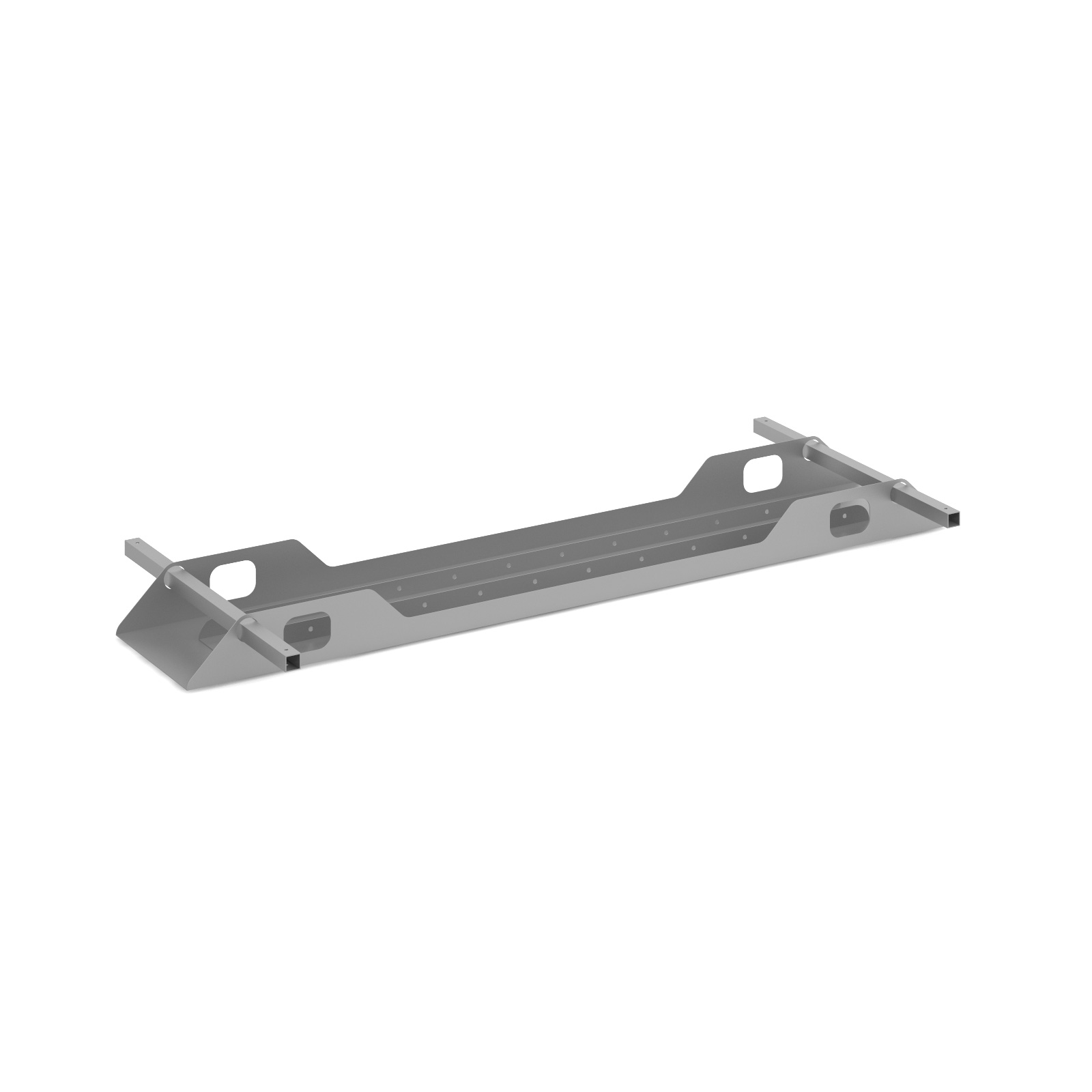 Connex Double Cable Tray 1600mm in silver