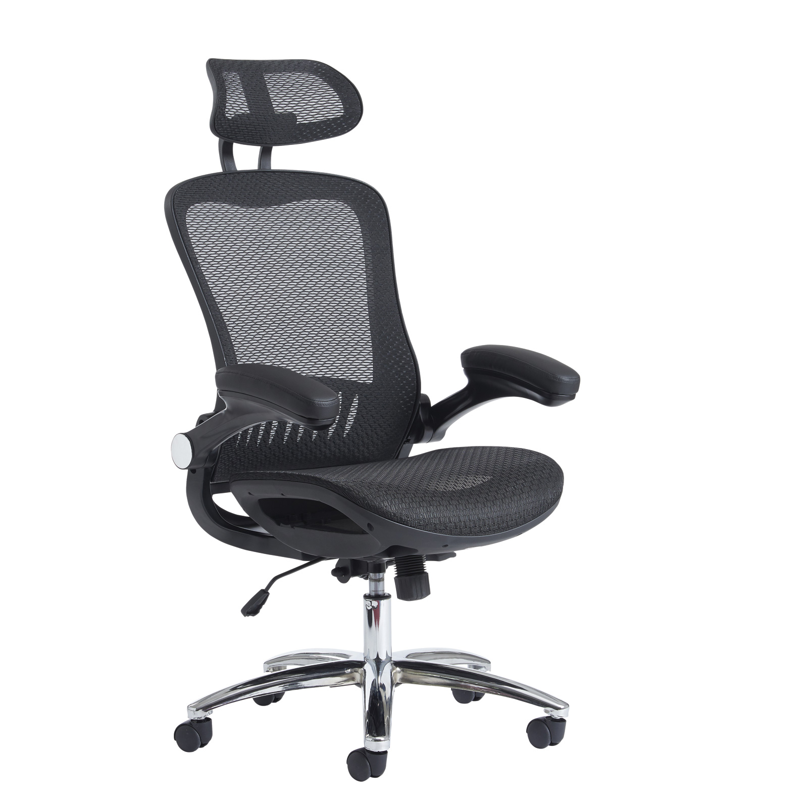 Curva mesh chair - black