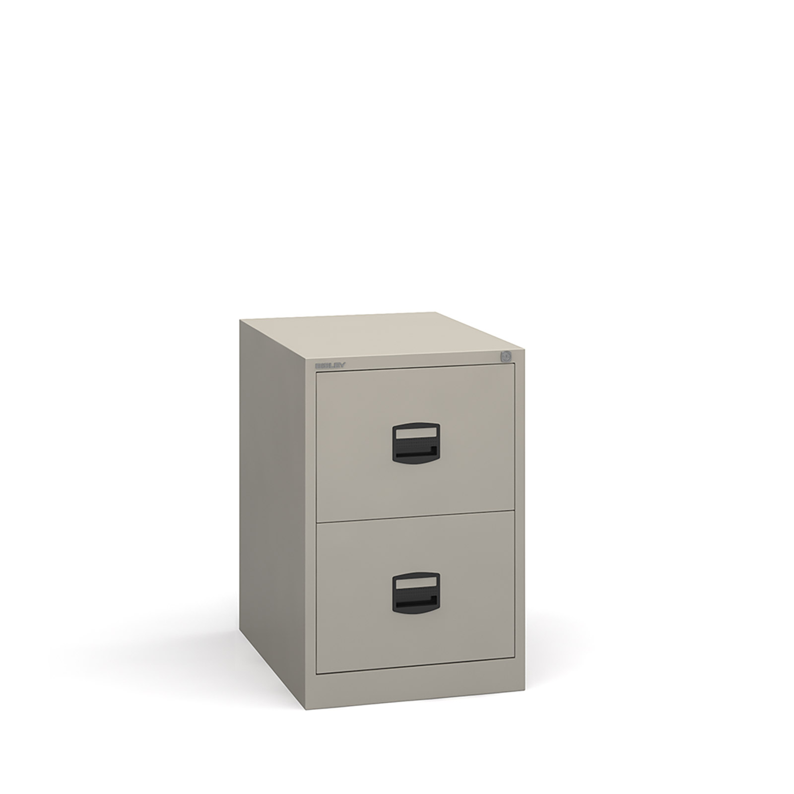 2 drawer contract filing cabinet in Grey