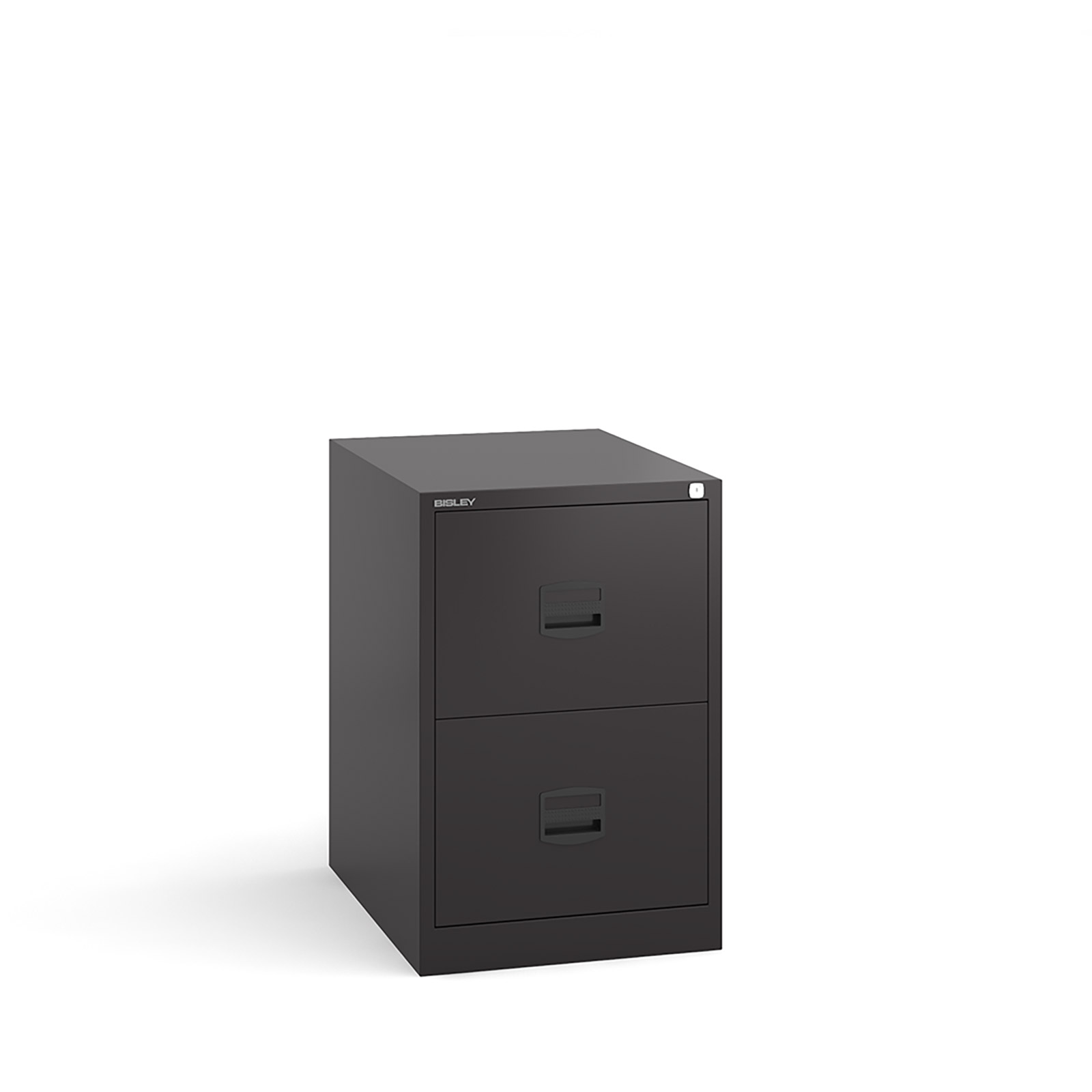 2 drawer contract filing cabinet in Black