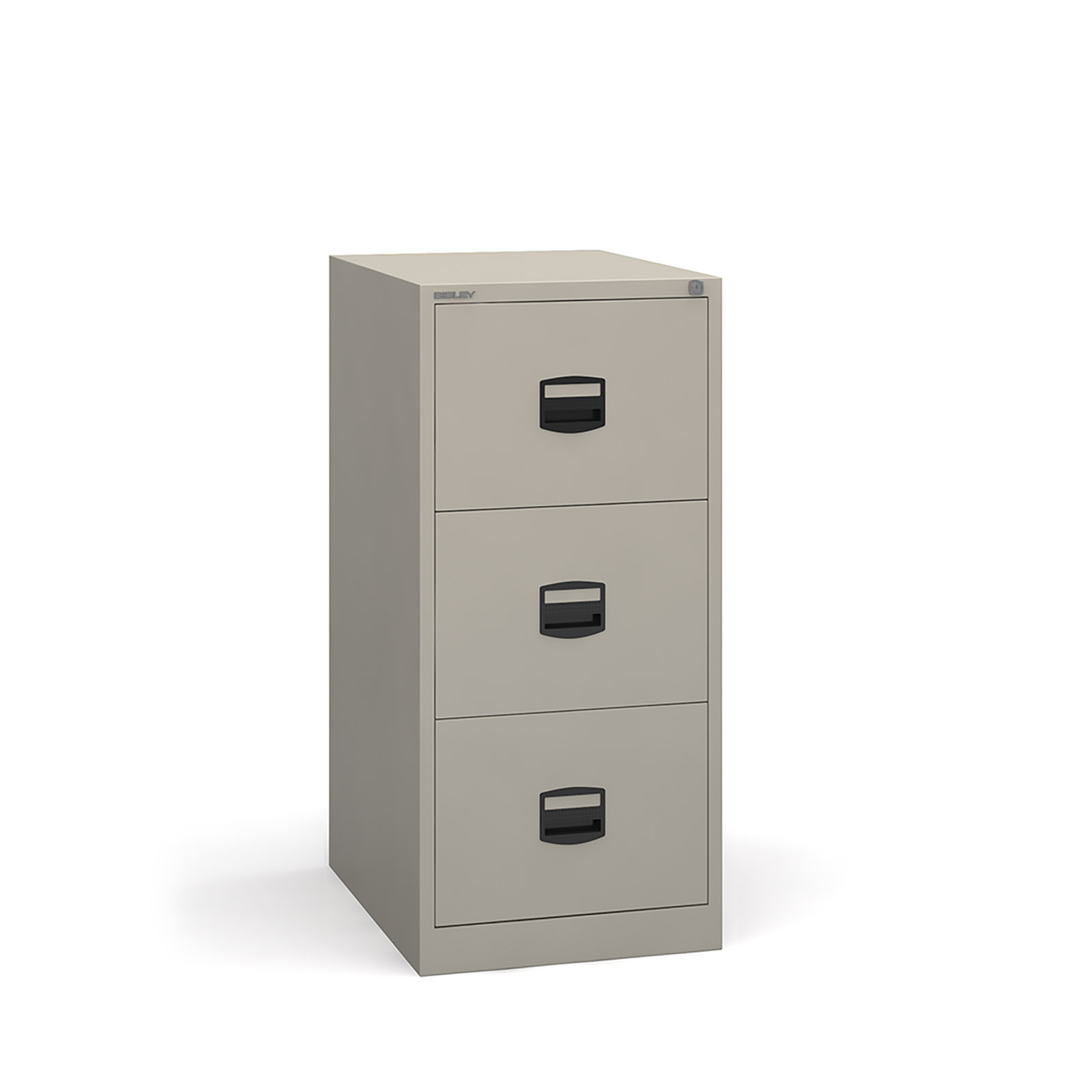 3 drawer contract filing cabinet in Grey