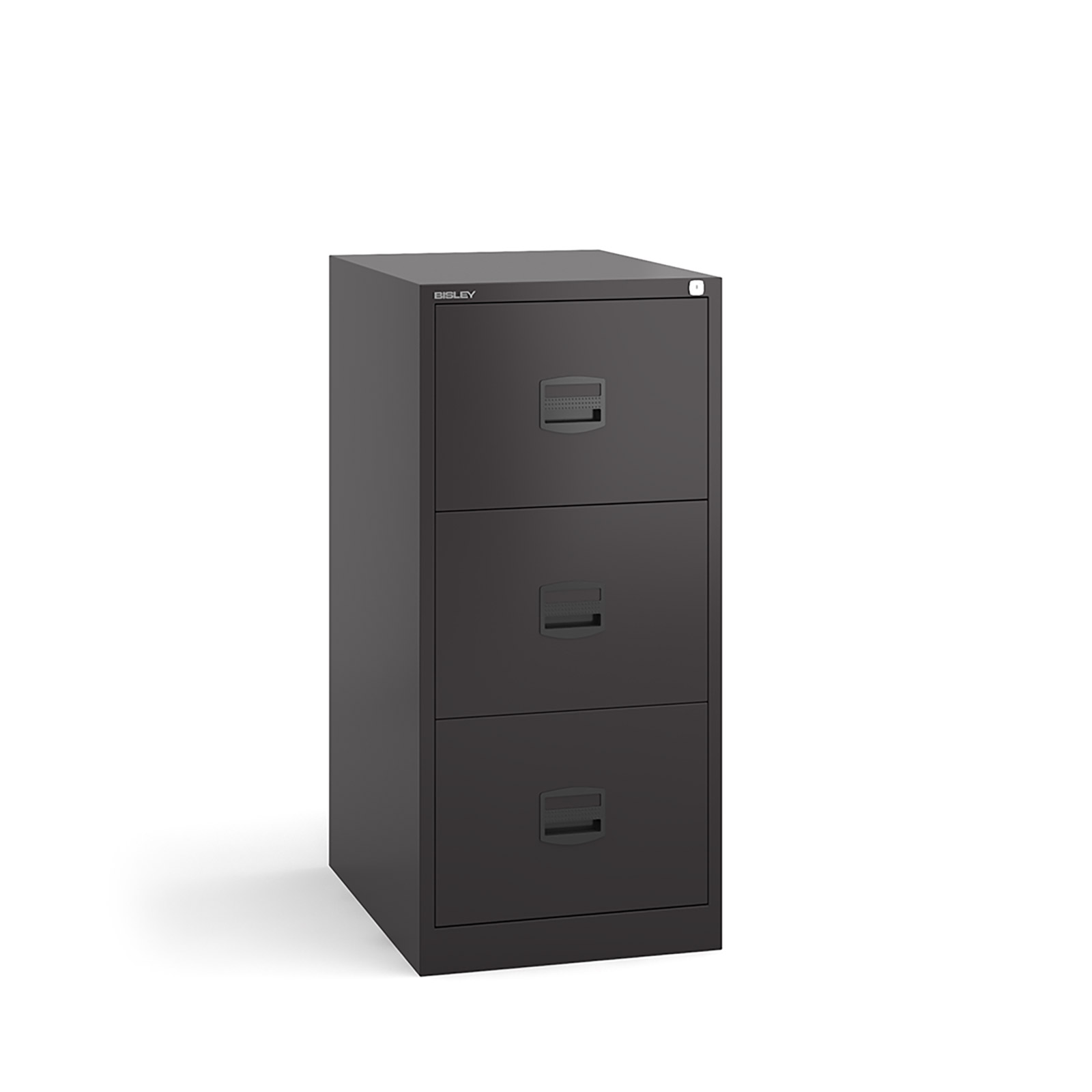 3 drawer contract filing cabinet in Black