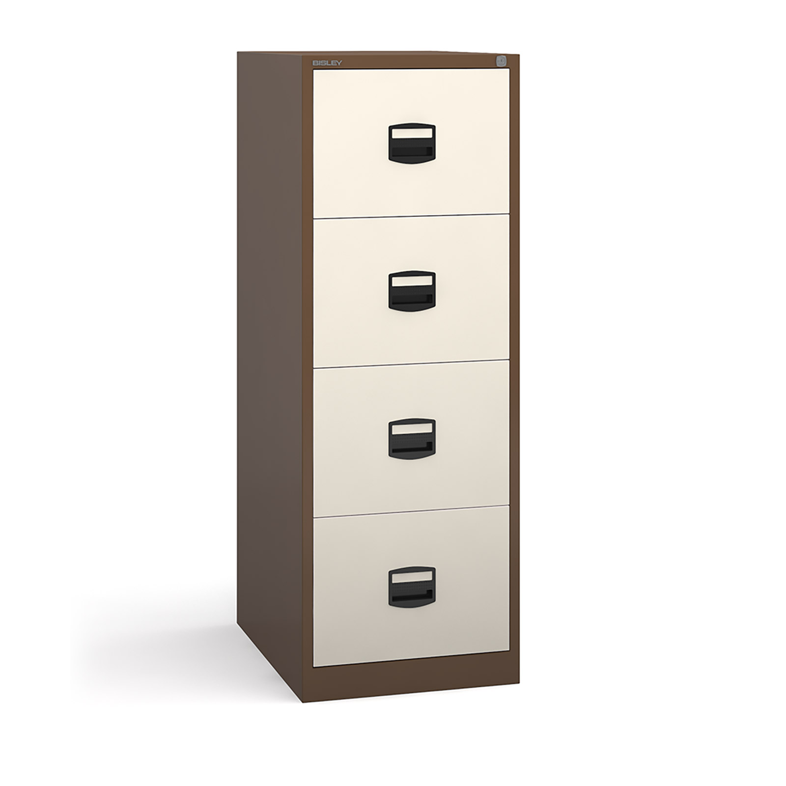 4 drawer contract filing cabinet in Coffee Cream