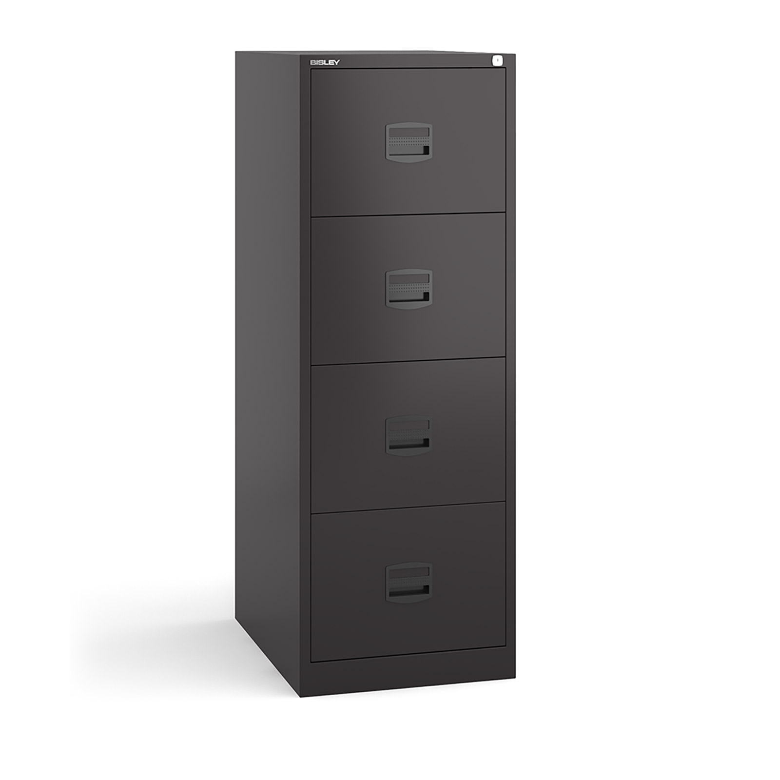 4 drawer contract filing cabinet in Black