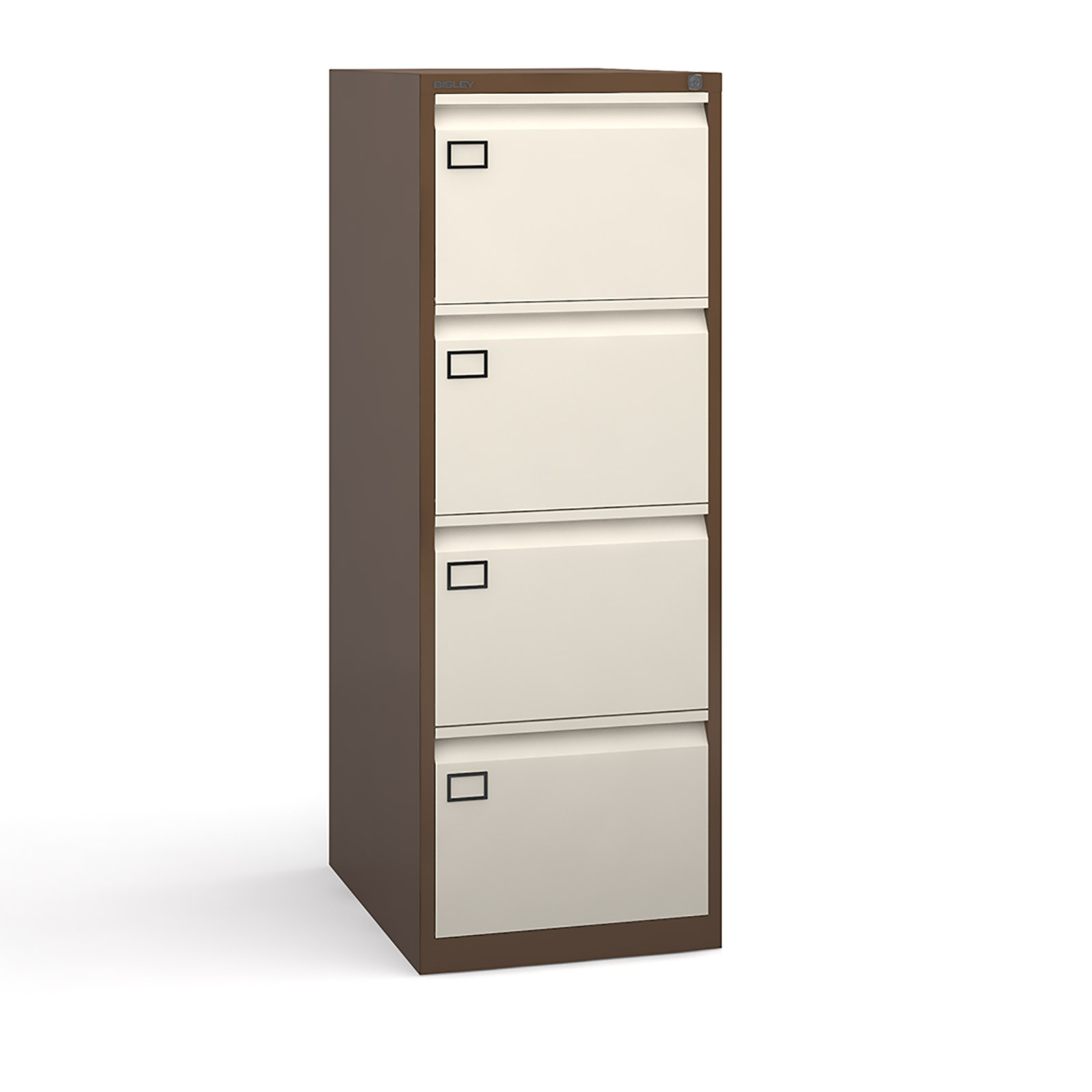 4 drawer executive filing cabinet Coffee Cream