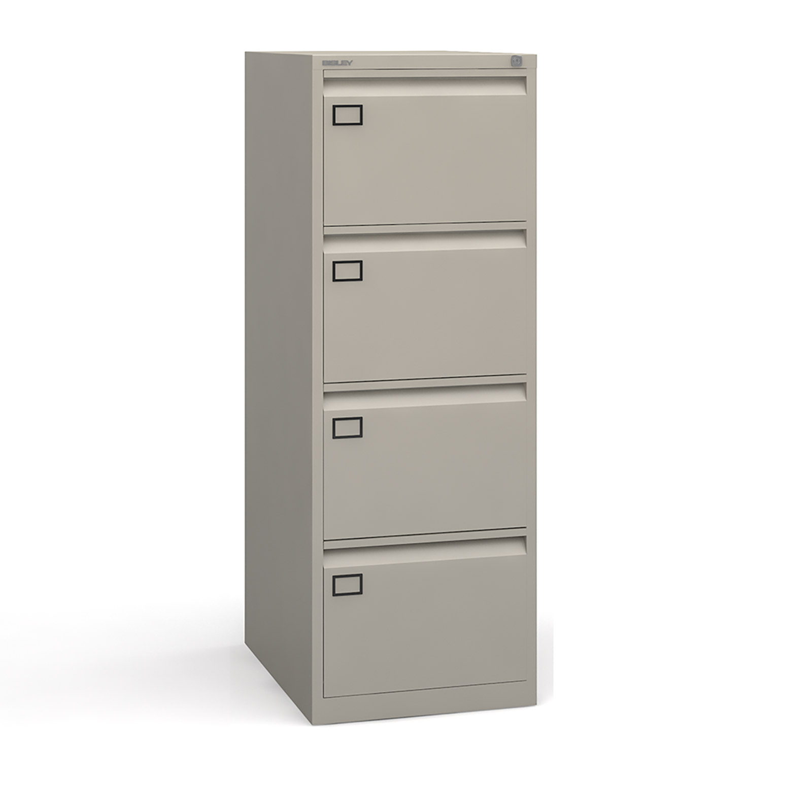 4 drawer executive filing cabinet Grey