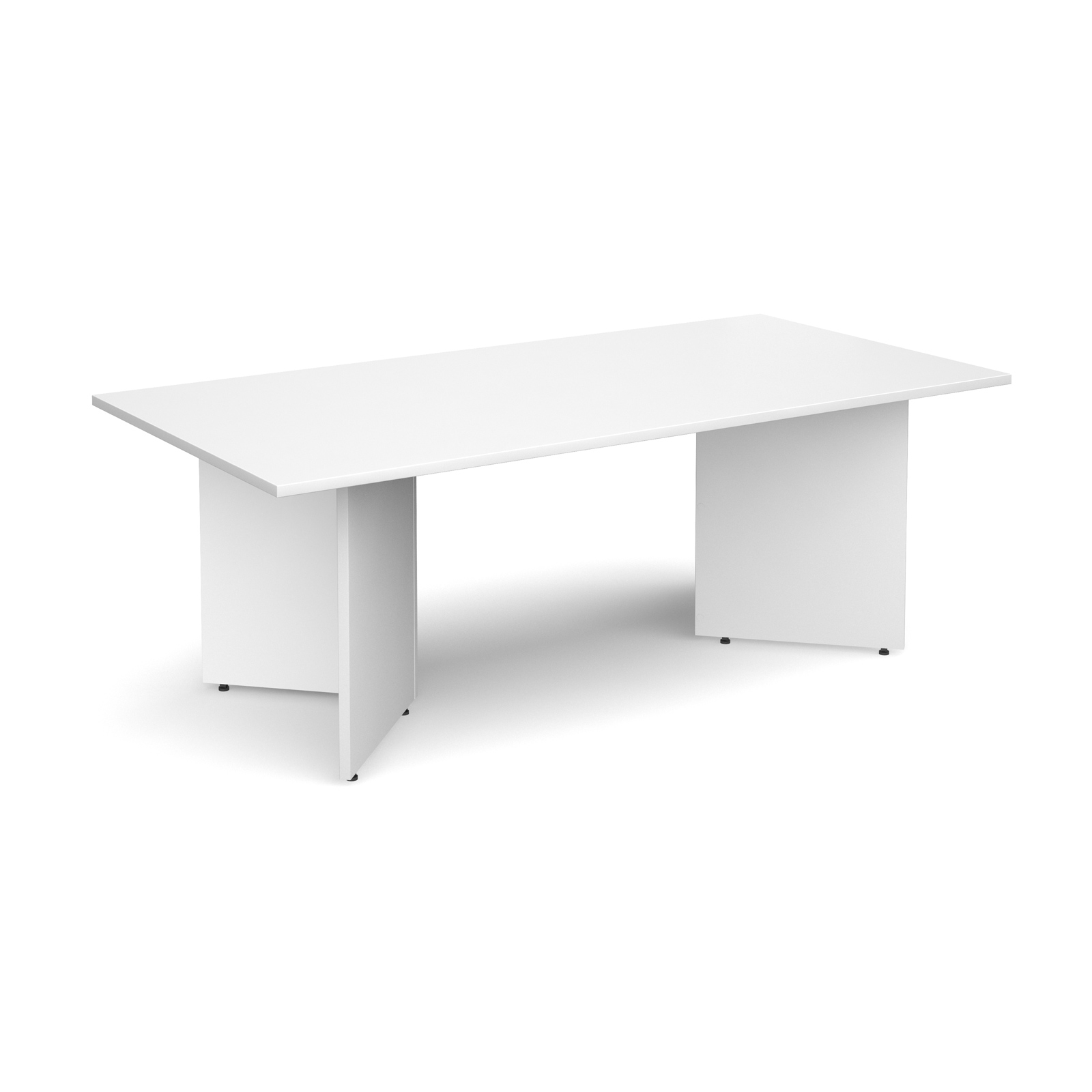 Arrow head leg rect boardroom table