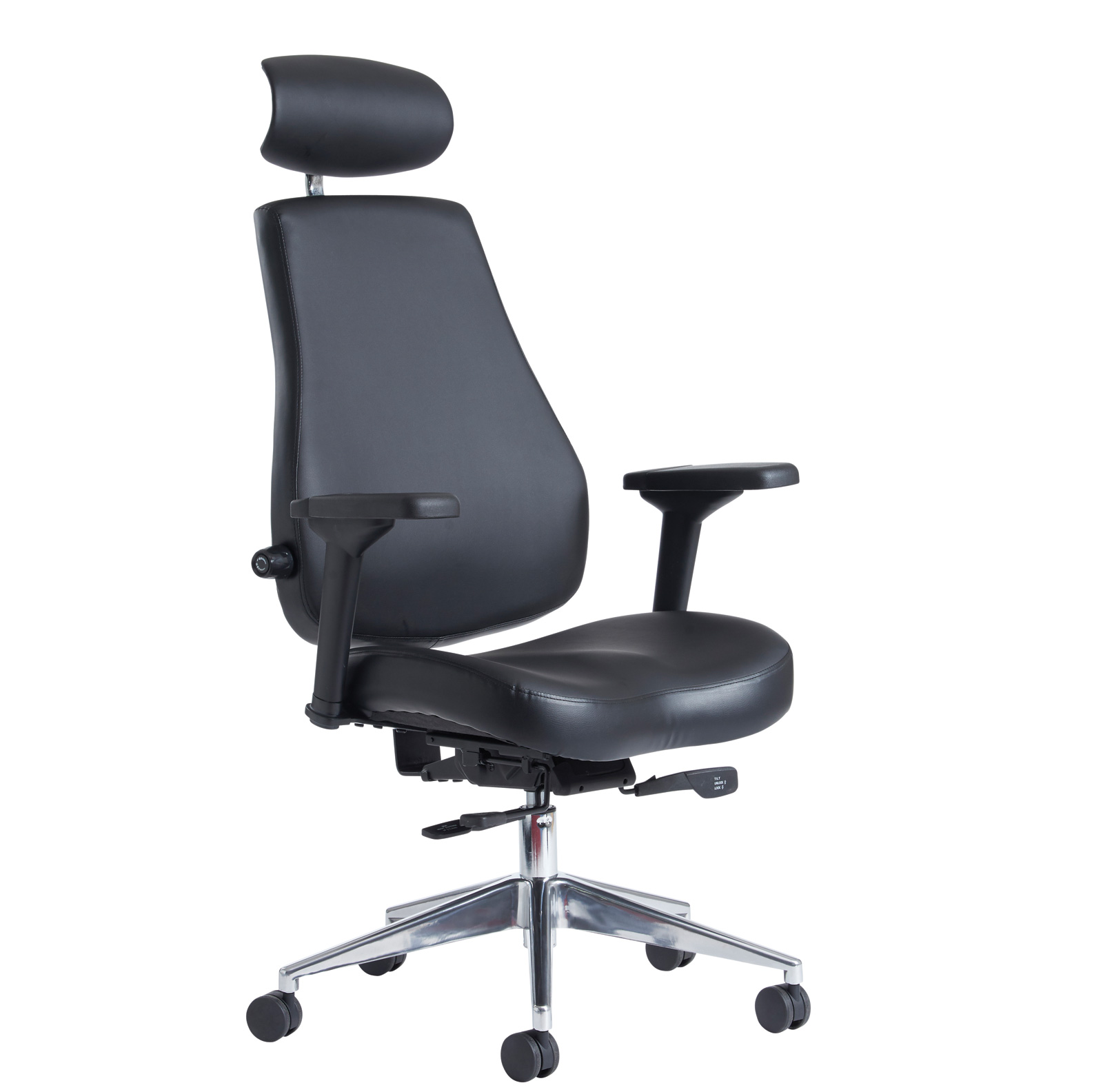 Franklin 24 hour task chair - black