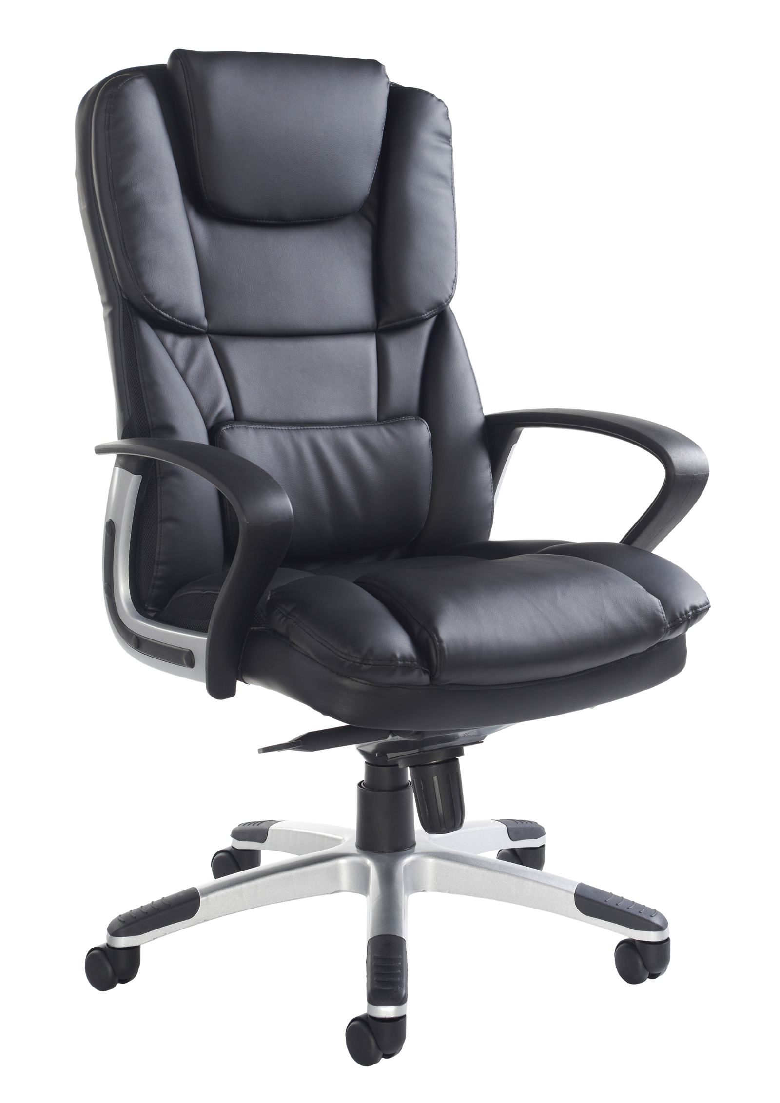 Palermo high back executive chair - black