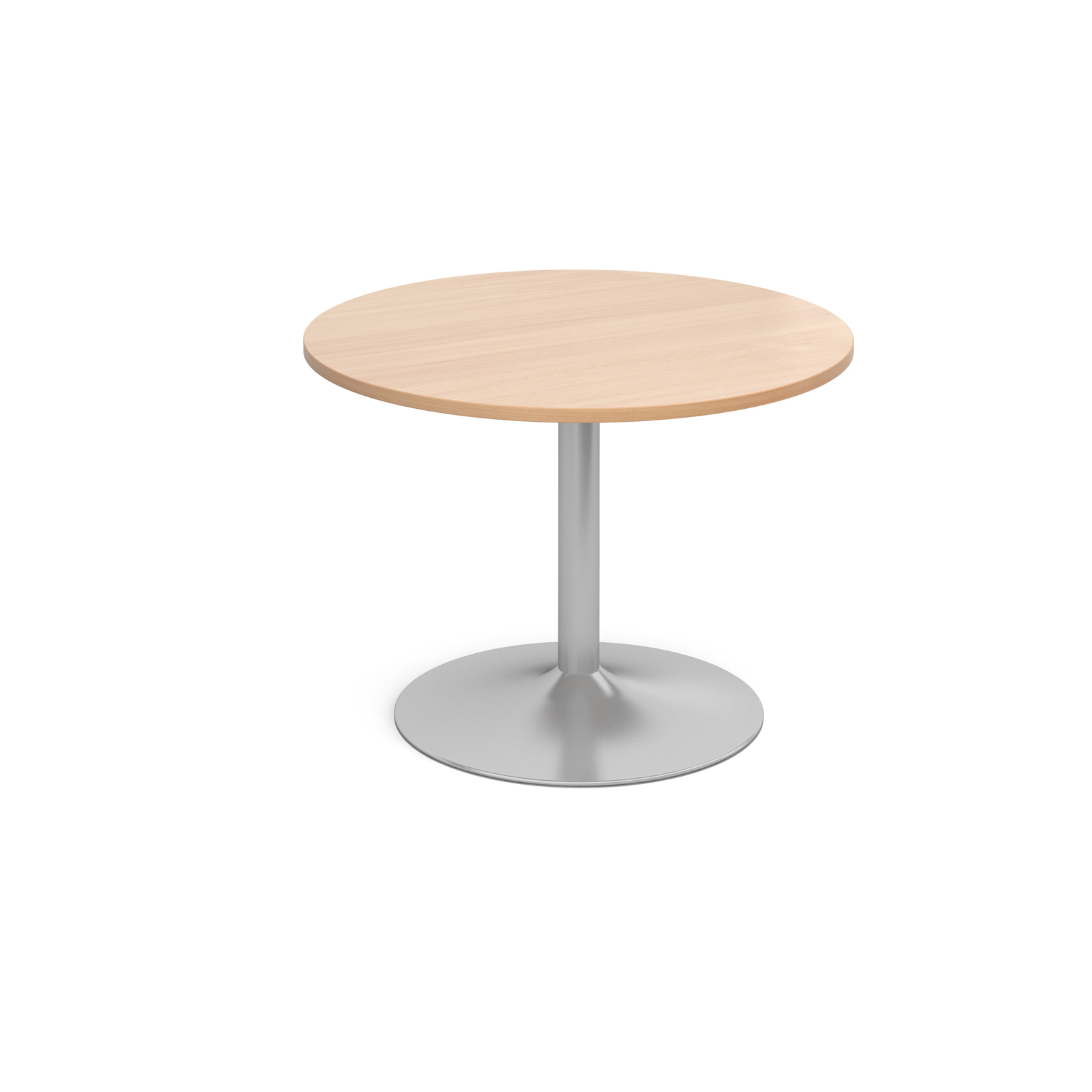 1000 Dia Circular Trumpet Base Boardroom Table 25mm Top -  Beech