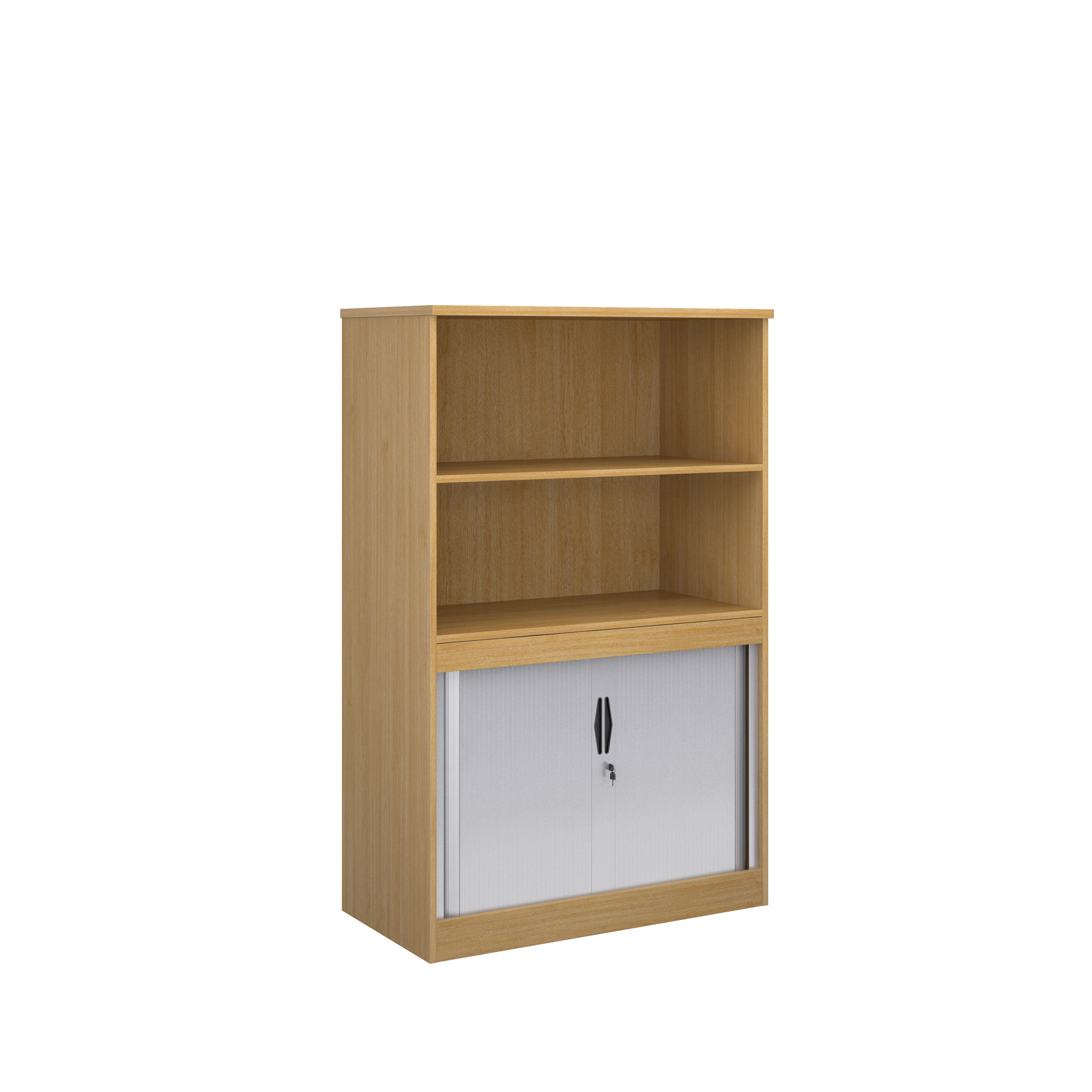 1600 System Storage half tambour, half cupboard in oak