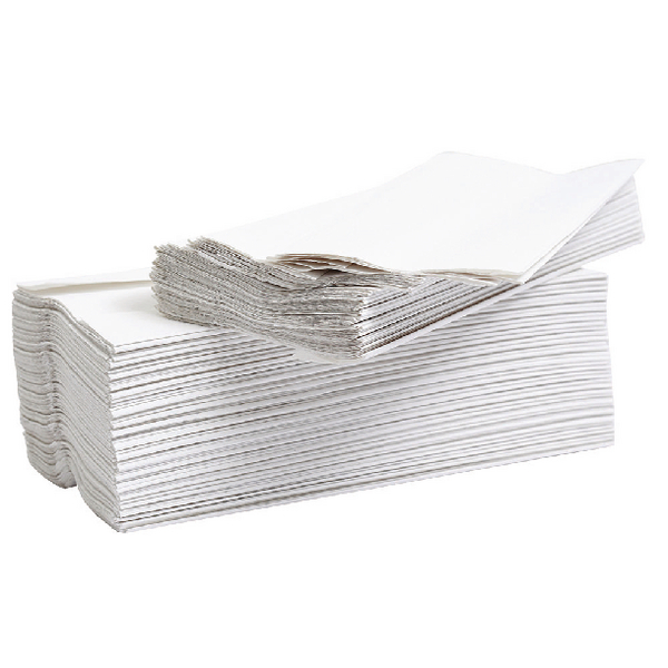 2Work 2-Ply Flushable Hand Towel White (2304 Pack) 12909VW