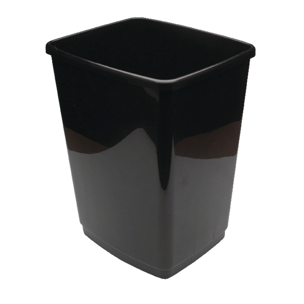 2Work Swing Bin Base 50 Litre Black 2W02381