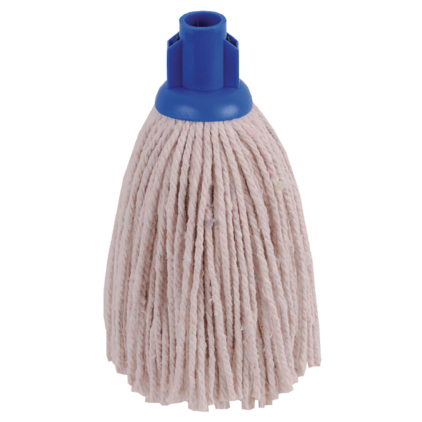 2Work 12oz PY Smooth Socket Mop Blue (10 Pack) PJYB1210I