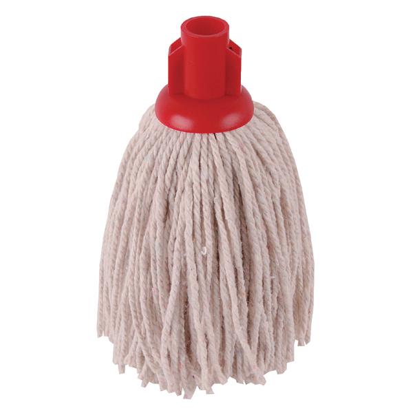 2Work 12oz PY Smooth Socket Mop Red (10 Pack) PJYR1210I
