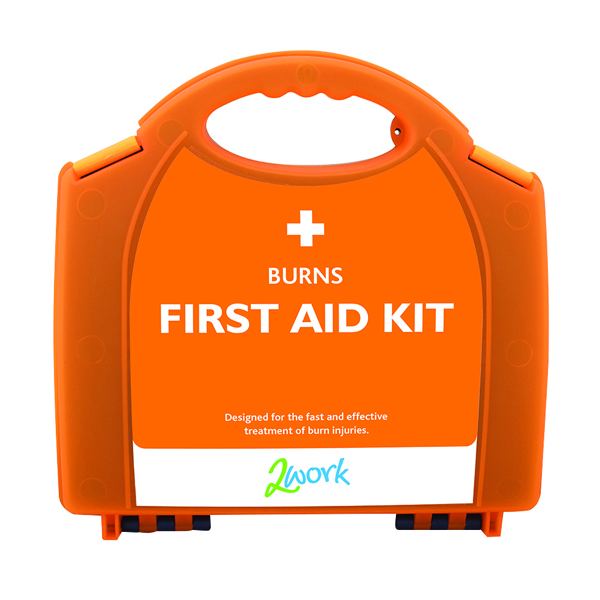 2Work Burns First Aid Kit Small X6090