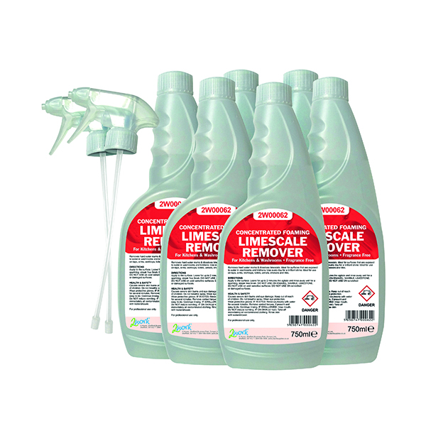 2Work Limescale Remover 750ml (6 Pack) 524
